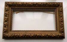 Heavy Antique Vintage Ornate Moulding Gilt Picture Art Frame Interior Home Decor