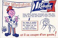 BUVARD PUBLICITAIRE /// UNE REVOLUTION / RUBAN ADHESIF RUBAFIX