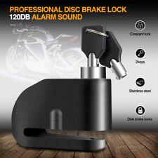 7MM Motorcycle Pit Bike 120DB Anti-theft Alarm Security Alarm Disc + Disk Lock