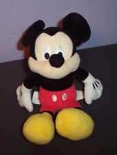 "Disney Lovey Toy Mickey Mouse Plush 10"" Mickey by Just Play Guc"
