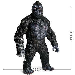 "12"" KING KONG action figure monster Skull Island Godzilla vs mecha toy gorilla"
