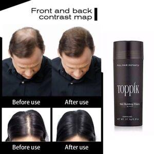 Dark Brown Black Medium Brown Gray 27.5g Toppik Hair Building & Thickening Fiber