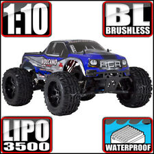 Redcat Racing Volcano EPX Pro 1:10 Electric Brushless 4WD Monster RC Truck Blue