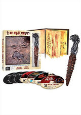 Evil Dead Anthology (Book of Dead Kandarian Replica Prop) NEW Blu-Ray 6-Disc Set