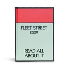 GIFT REPUBLIC MONOPOLY FLEET STREET A6 HARDBACK LINED NOTEBOOK NEW HOSPICE SHOP