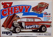 1957 Chevrolet Bel Air Spirit of 57 Flip Nose Gasser 1:25 Mpc 904