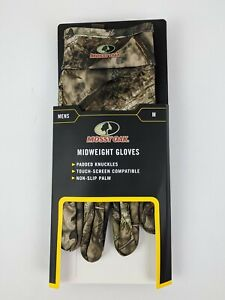 Mossy Oak Breakup Country Midweight Glove Padded Knuckle Touch Screen Compatible