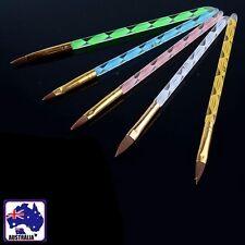 5pcs Nail Art Brush Tool Acrylic UV GEL Carving Pen Liquid Manicure Jnail0513