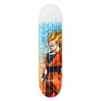 "Primitive Skateboard Deck Dragon Ball Z GOKU POWER LEVEL PROD 8.125"" DBZ"