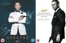 Daniel Craig James Bond Collection DVD Spectre Skyfall Casino Royale Quantum