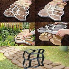 Garden Walk Pavement Concrete Mould Manually Paving Cement Brick Stone Road Mold