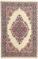 "Anatolia Traditional Collection Handmade Turkish Area Rug Wool 3'-10"" x 5'-4"""
