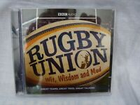 Rugby Union: Wit, Wisdom and Mud by BBC Audio, A Division Of Random House...