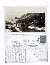CORNISH POST CARD REAL PHOTO OF QUAY VALLEY ST. AGNES