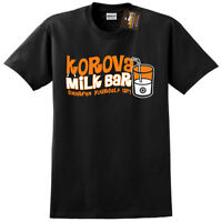 Korova Milk Bar T-shirt Clockwork Orange Inspired - Unofficial Retro Film - NEW
