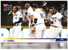 Ben Gamel Brewers Walk-Off Giants on 7.13.19 2019 Topps NOW 508