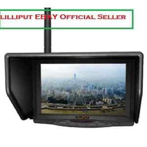 "Lilliput 7"" 329/W Monitor for FatShark 5.8GHz FPV Aerial Flying Wireless Camera"