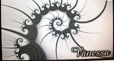 CHECKBOOK COVER  BLACK & GRAY DESIGN