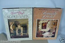 BHG Books - Victorian Style Needlecrafts & Romantic Crochet Hardbacks
