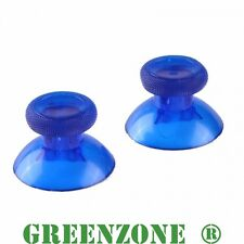 2 x Analogue Thumbsticks for Xbox One 1 Controller Clear Blue
