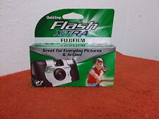 "NEW ""FUJI FLASH EXTRA"" SINGLE USE 35mm CAMERA  in SEALED PACKAGE   05/2012"