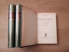 STORIA MONDIALE DAL 1814 al 1938 - Orsi P. - 3 voll. Zanichelli