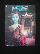 Puzzle VERNES Bob Morane Anneau de Salomon 10x15