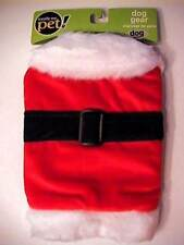 Christmas Dog SANTA SUIT Costume Pet Supply Xmas SMALL