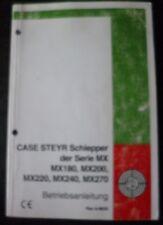Case Steyr Traktoren MX180 - MX270 Anleitung