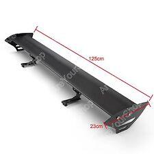 Universal Hatch Aluminum GT Rear Trunk Wing Racing Spoiler Black New D2