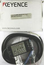 Keyence LX2-70W Amplificador Fibra Óptica Sensor Fotoeléctrico S1027.7