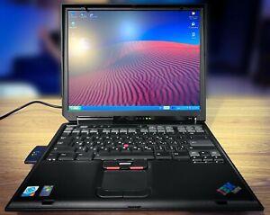 IBM ThinkPad R40 Vintage Laptop WinXP Rare Model