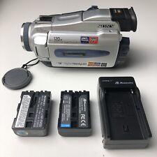 NICE Sony DCR-TRV18 MiniDv Mini Dv Camera Stereo Camcorder Video Transfer TESTED