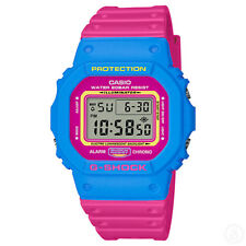 CASIO G-SHOCK '80s Street Culture Special Colour Edition Watch DW-5600TB-4B