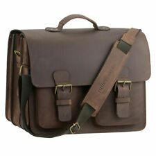 Ruitertassen Teacher Bag Leather XL School Bag Briefcase 3 Compartments Ranger