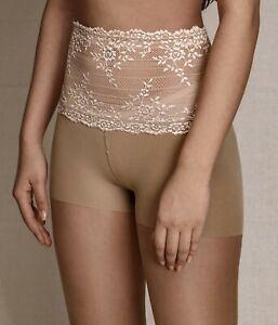 High Lace Waist Pantyhose 20 Denier Tights Vintage Stockings Sheer Women Hosiery