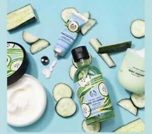 The Body Shop Limted Edition Cooling  Cucumber Set For Summer