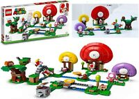 LEGO Super Mario Toad Treasure Hunt Expansion Set 71368 Building Kit Ages 8+ Toy