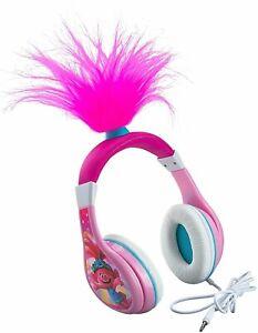 Trolls World Tour Poppy Kids Headphones, Glow in The Dark, Volume Limiting