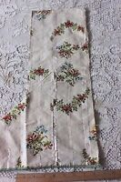 Lovely French Antique 18thC Silk Brocaded Textile Fabric~Dolls, Collectors