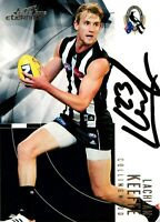 ✺Signed✺ 2012 COLLINGWOOD MAGPIES AFL Card LACHLAN KEEFFE