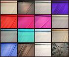 """Power Mesh Net 4 Way Stretch Sheer Elastane Swimwear Lining Fabric Material 60"""""""