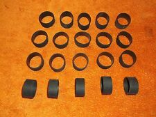 MOTORCYCLE TWENTY ( 20 ) WIDE BAND FOOT PEG'S & HAND GRIP'S REPLACEMENT RUBBER'S