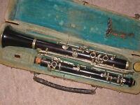 """Nice old / Historic Oboe / hautboy """"Karl Gottlob Schuster Markneukirchen"""""""