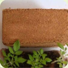 HYDROPONIC GROWING MEDIA COCONUT FIBER coco coir natural peat greenhouse 620g
