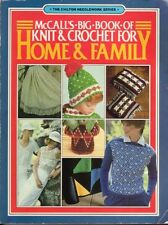 McCalls big book of knit and crochet for home and