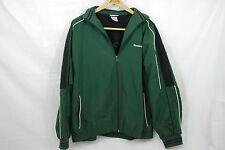 Reebok Classic Men's Dark Green Athletic Jacket Size Medium