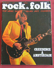ROCK AND FOLK N° 57  OCTOBRE 1971  CREEDENCE