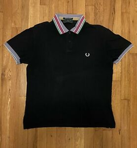 Fred Perry Polo XXL Light And Stretch Black Men's