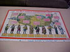 Older Poster History Explorers School Teach~2 Side+Old Purple Worksheets Educate